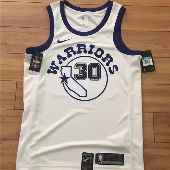 buy popular ad55e b1cfb Nike golden state warriors hardwood classic NWT